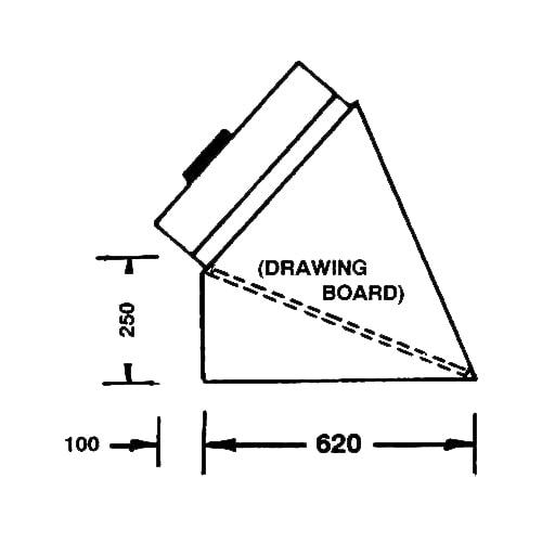 BV100H side dimensions