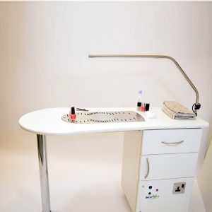 BV3000 - Nail Desk with Fume Extraction and Dust Filtration