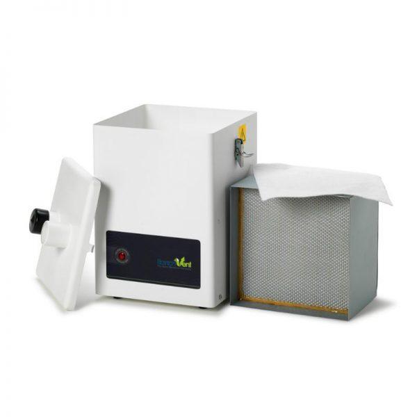 Combined HEPA/Gas Filter - Soldering